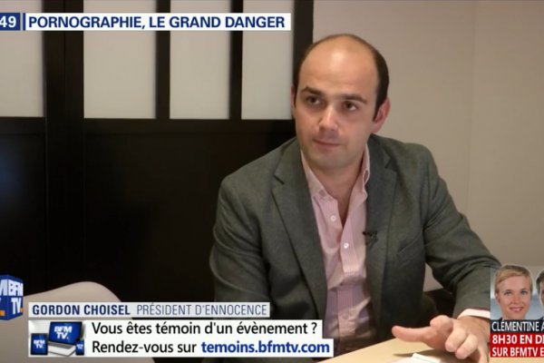 BFM TV : « Pornographie, le grand danger »